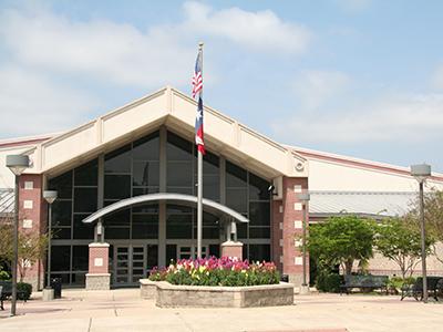 Clay Madsen Recreation Center entrance.